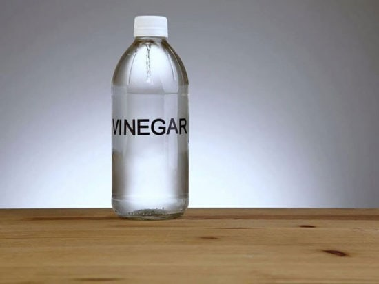 Vinegar can lower the pH level of the fish tank in a couple of ways